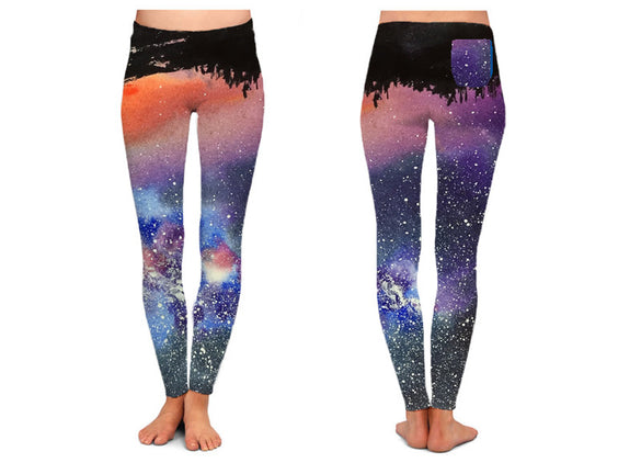 Love Nebula Leggings