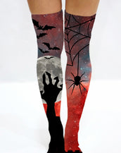 Spooktacular Halloween Knee High Sock