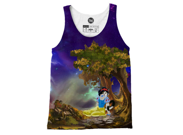 Snow White Cat Tank Top