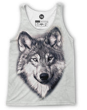 Wolf Sketch Tank Top