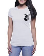 Zebra Pocket T-Shirt