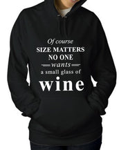Of Course Size Matters Hoodie