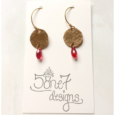 Tag Earrings