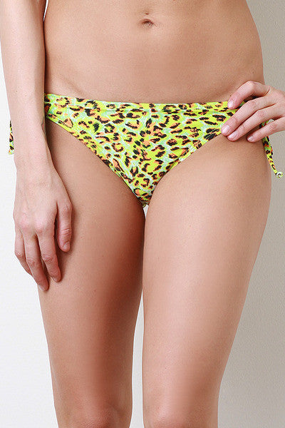 Illumination Cheetah Bikini Bottom