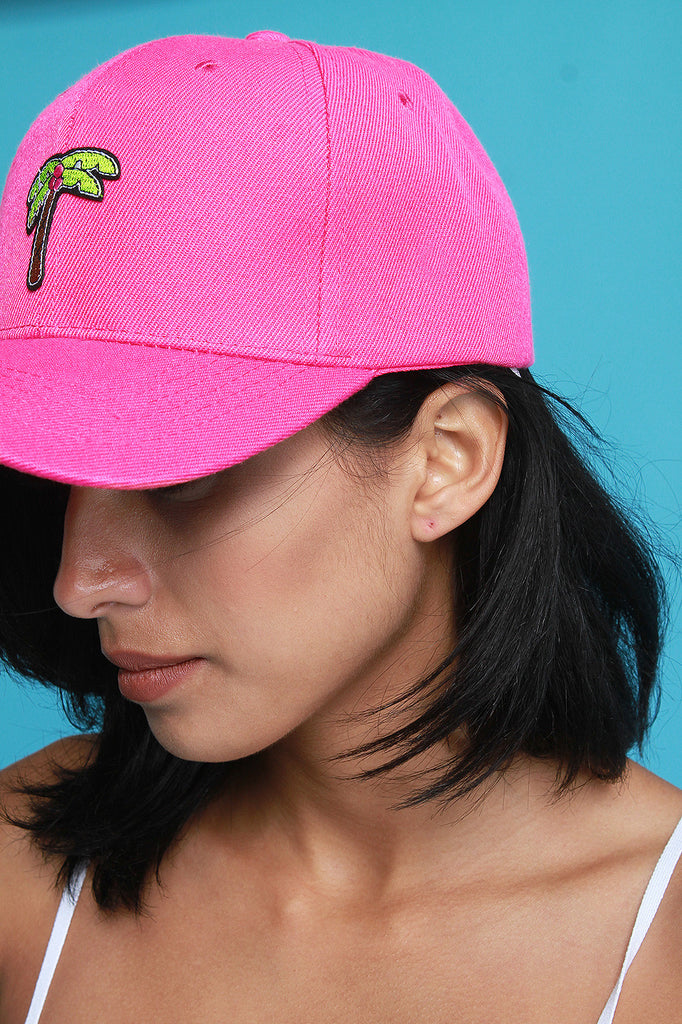 Palm Tree Patch Baseball Cap
