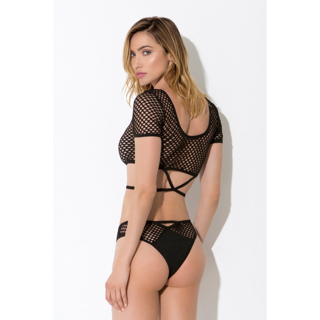 Transformix Crop Top and Panty Set