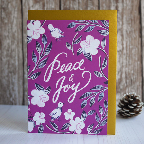 Berin Made Peace & Joy Christmas Card