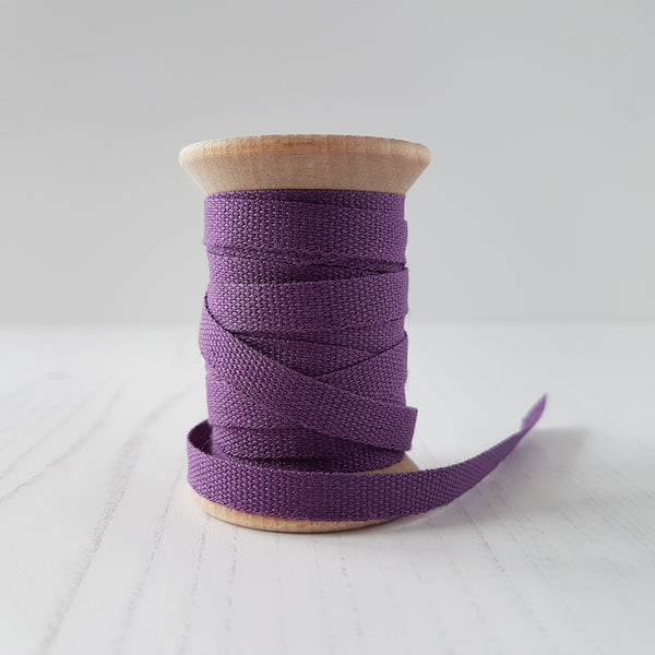 Studio Carta Cotton Ribbon Plum - HUEBOW