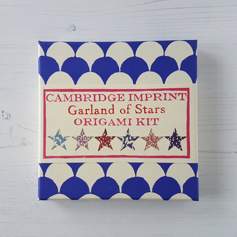 Cambridge Imprint Origami Star Garland Kit