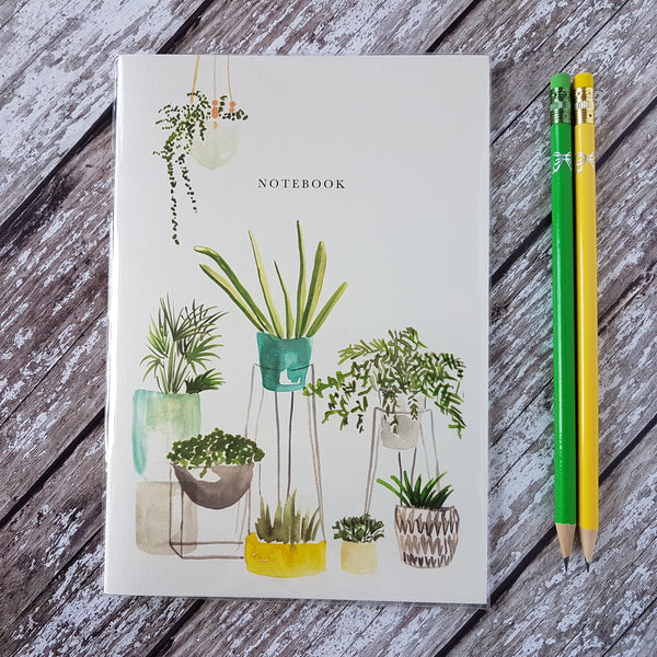 Meylor Houseplant Notebook - HUEBOW