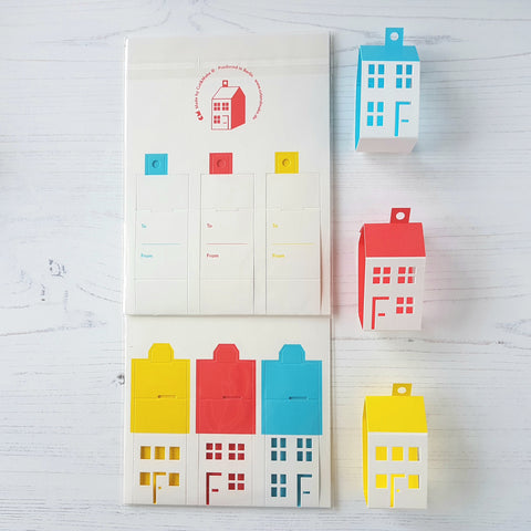 Cut & Make House Tags