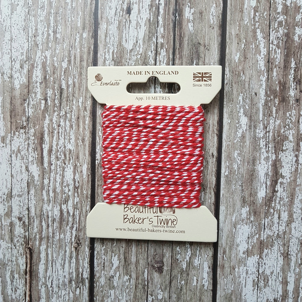Baker's Twine 10m Red Original - HUEBOW