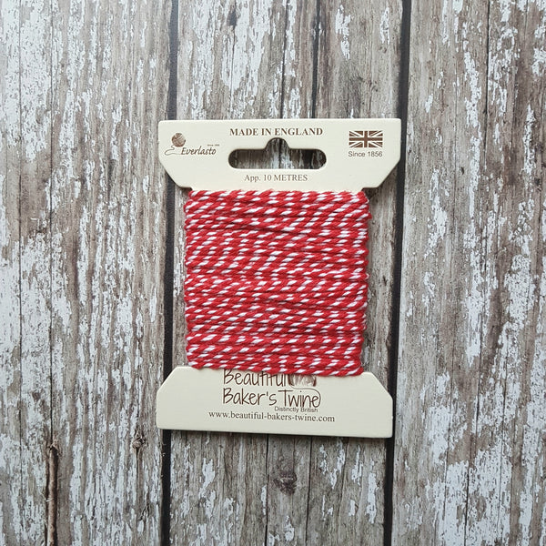 Baker's Twine 10m Red Original