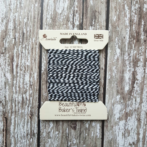 Everlasto Baker's Twine 10m Black Original