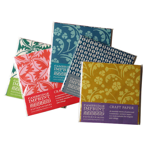 Cambridge Imprint Craft Origami Paper Pack (36 sheets)