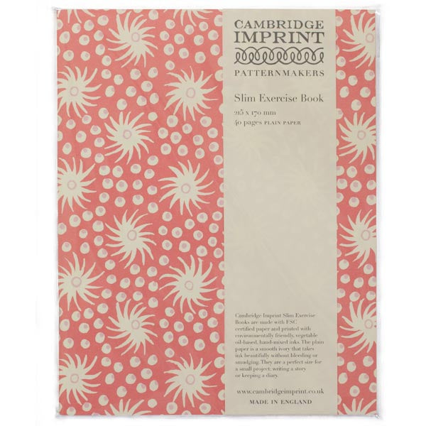 Cambridge Imprint Exercise Book | Milky Way Old Red - HUEBOW