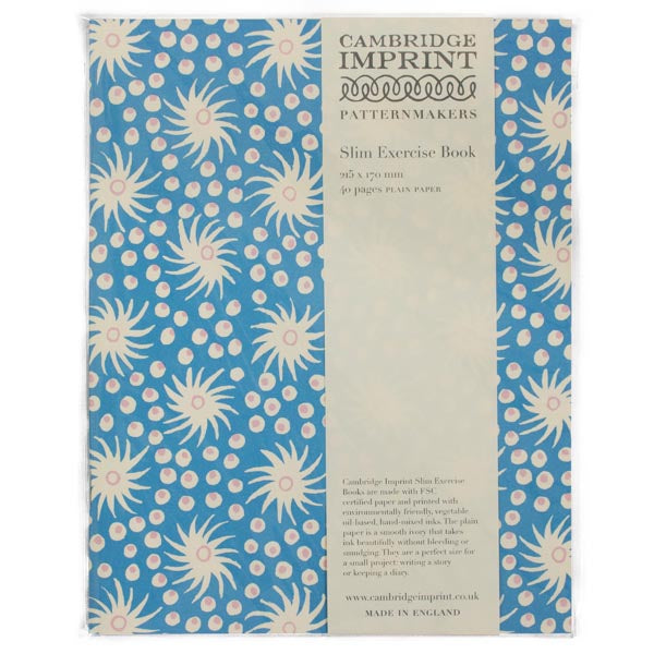 Cambridge Imprint Exercise Book | Milky Way Blue - HUEBOW