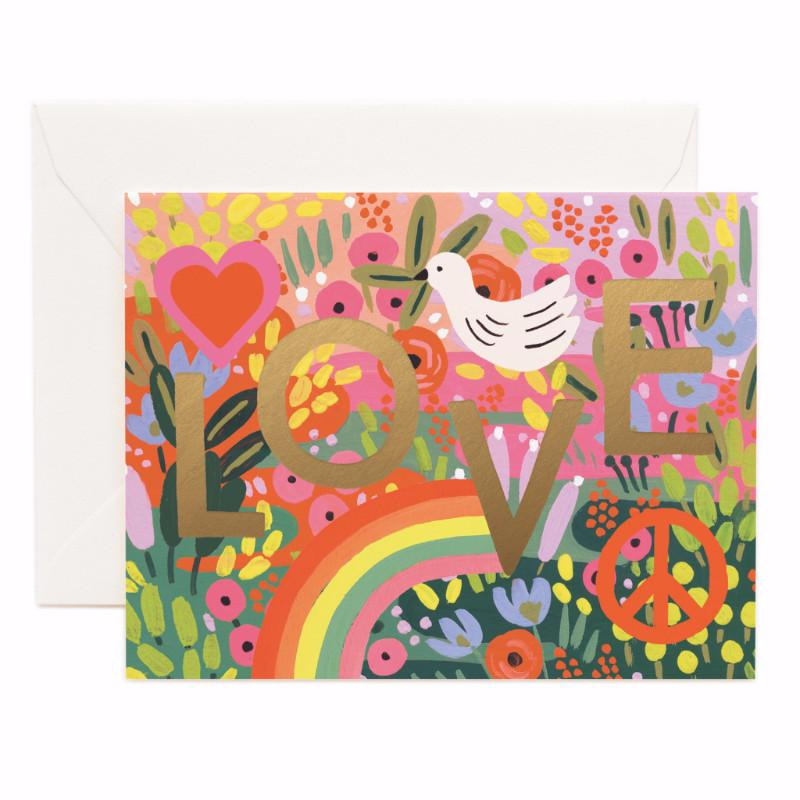 Rifle Paper Co. All You Need Is Love Card - HUEBOW