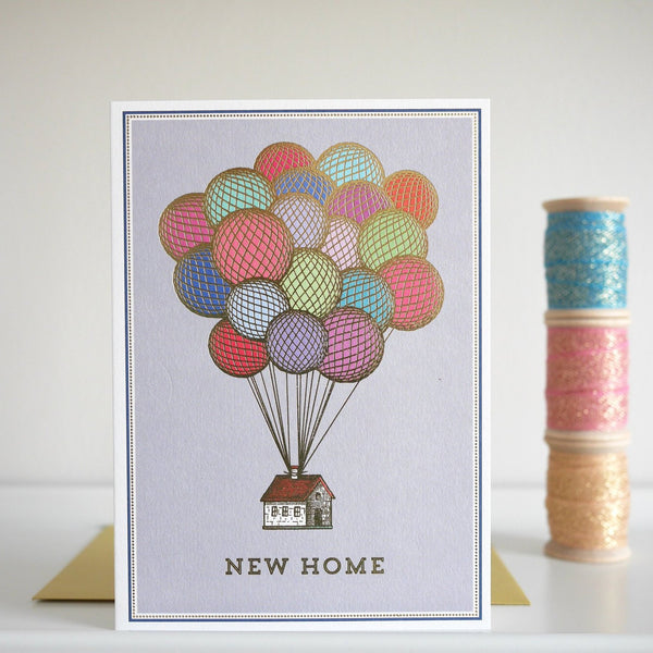 Chase and Wonder New Home Card - HUEBOW
