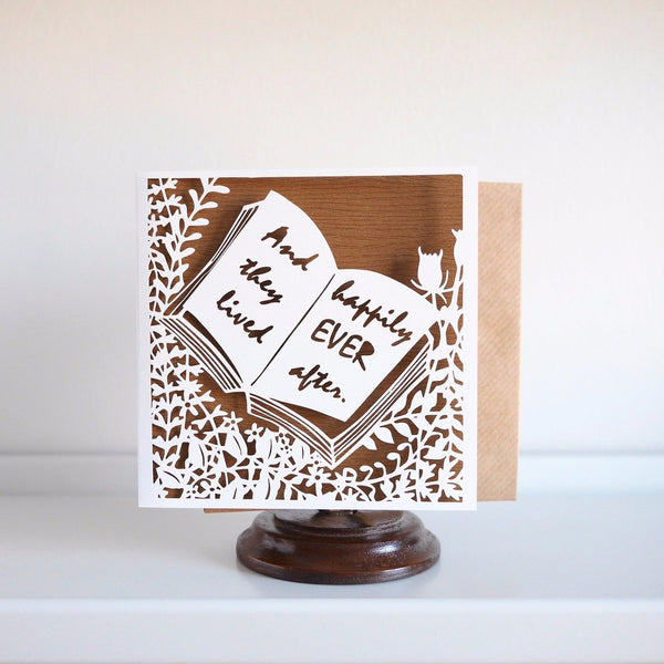 Chau Art Happily Ever After Card - HUEBOW