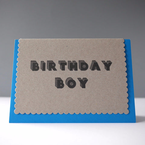 Katie Leamon Birthday Boy Card