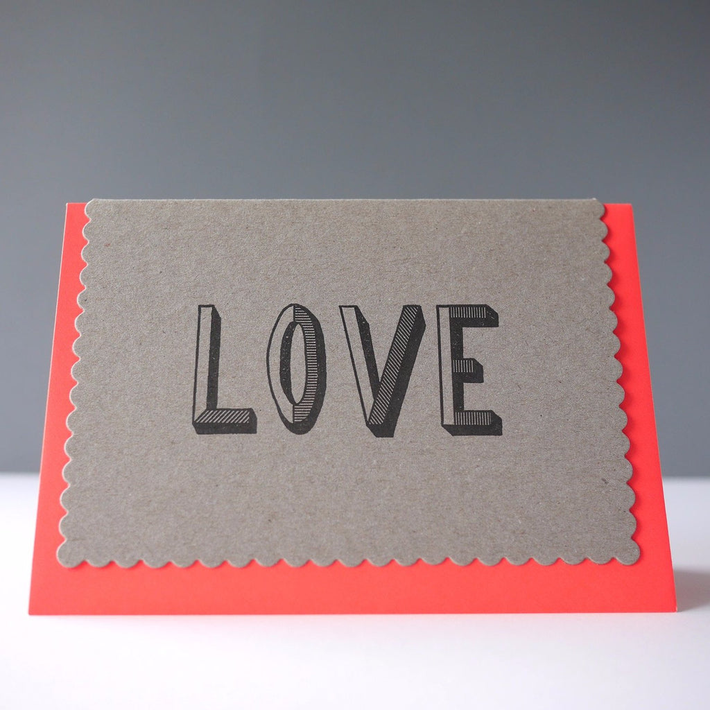 Katie Leamon Love Card - HUEBOW