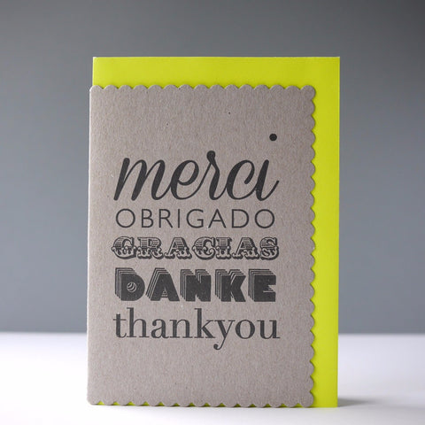 Katie Leamon Merci Card