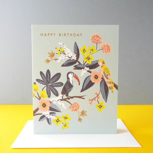 Rifle Paper Co. Toucan Birthday Card - HUEBOW