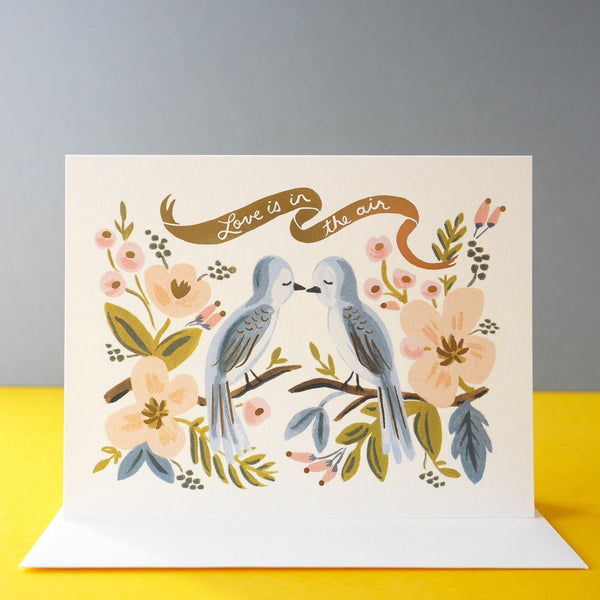Rifle Paper Co. Love Is In The Air Card - HUEBOW