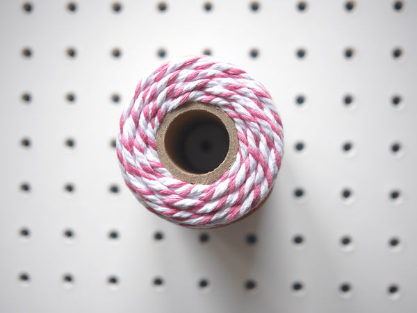 CHUNKY BAKER'S TWINE | ROSE - HUEBOW