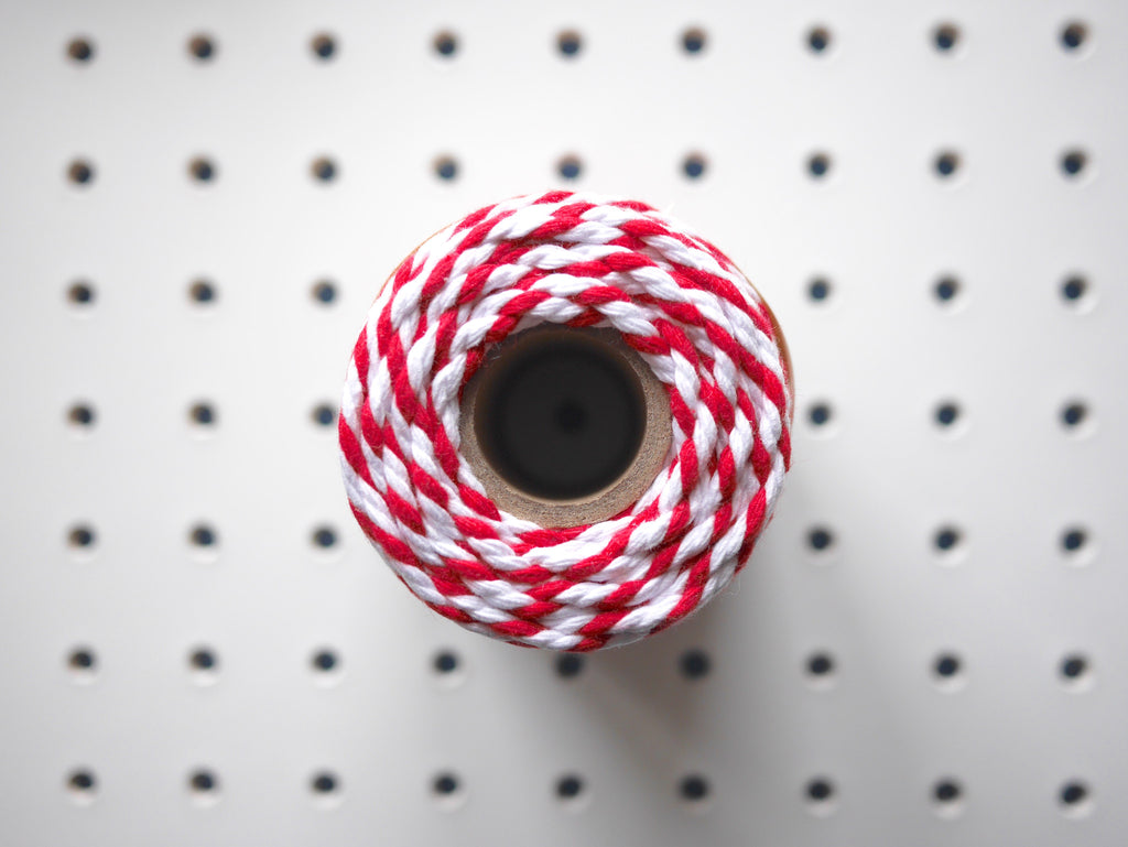 CHUNKY BAKER'S TWINE | BEEFEATER RED - HUEBOW