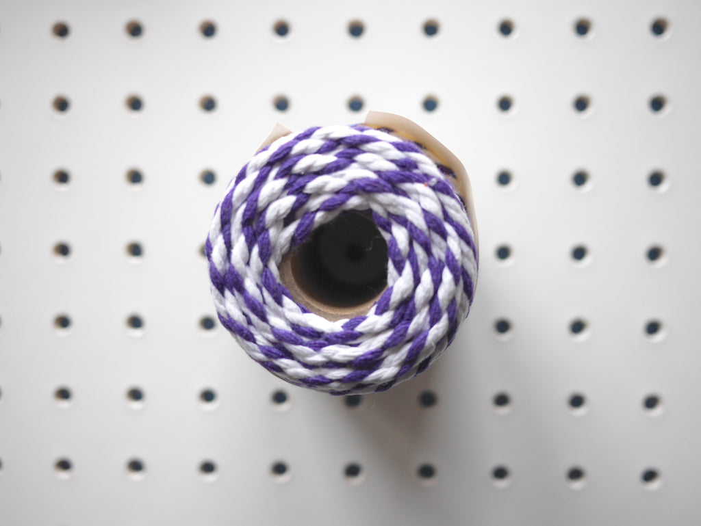 CHUNKY BAKER'S TWINE | VIOLET - HUEBOW