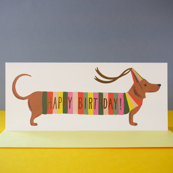 Rifle Paper Co. Hot Dog Birthday Card - HUEBOW