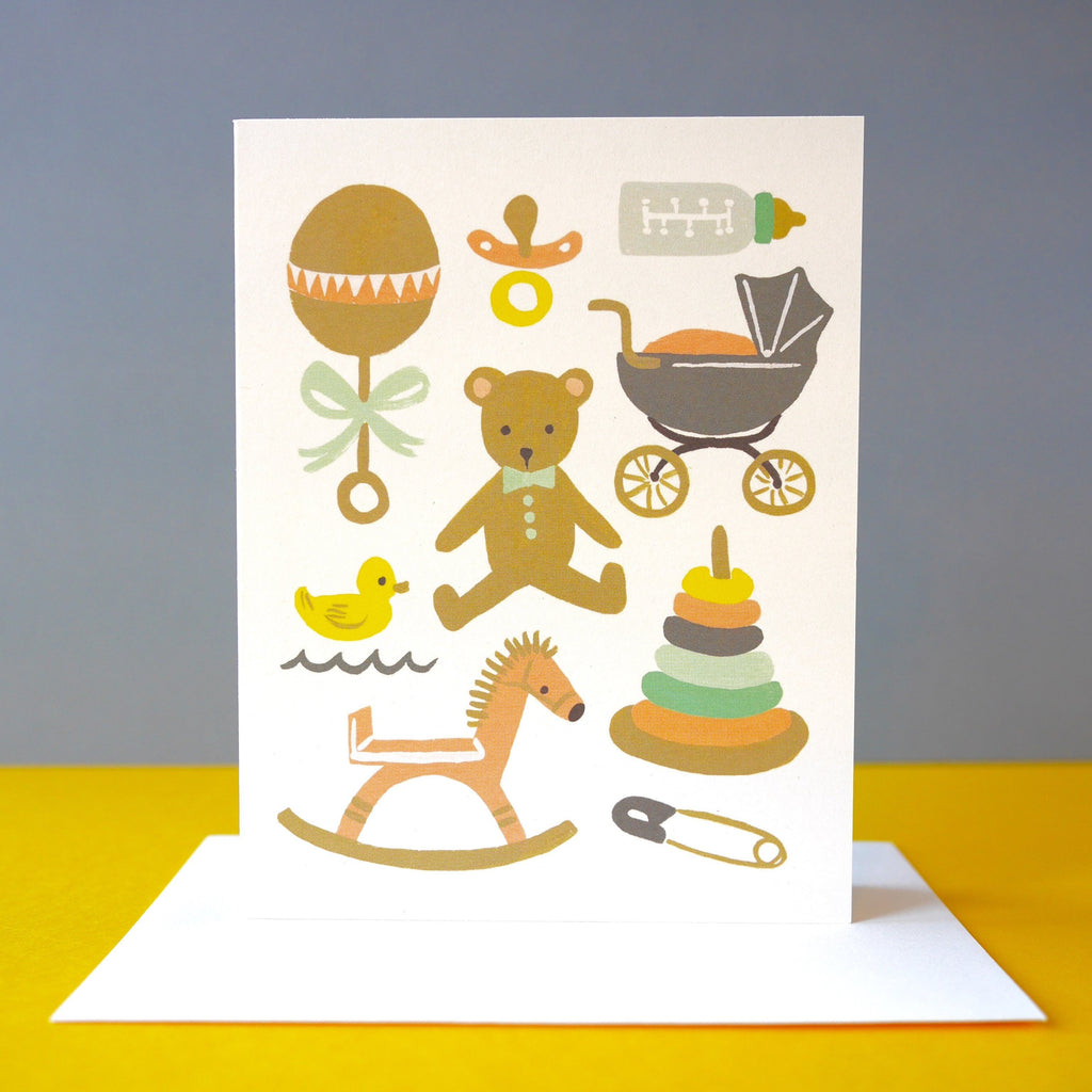 Rifle Paper Co. Classic Baby Card - HUEBOW