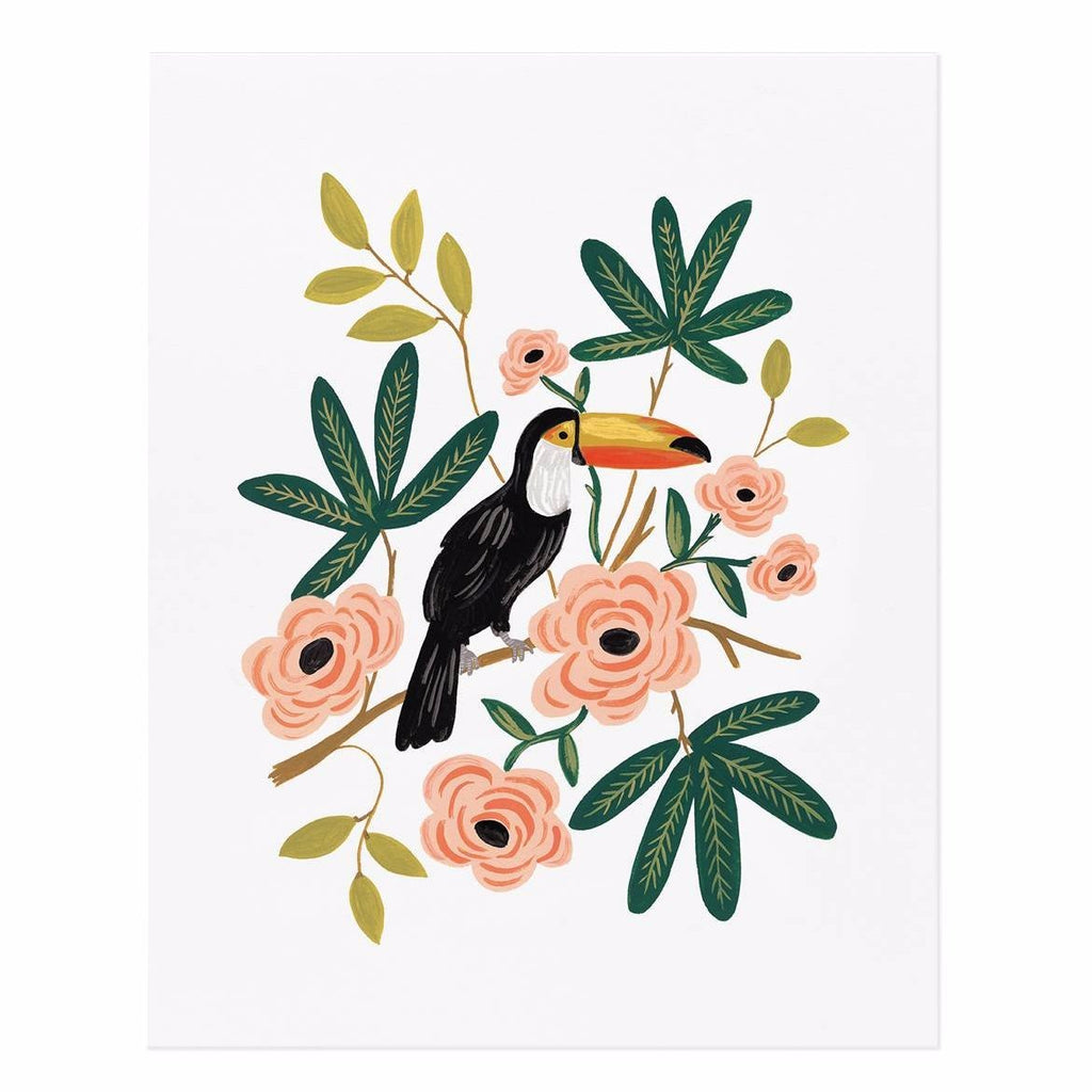Rifle Paper Co. Toucan Art Print - HUEBOW