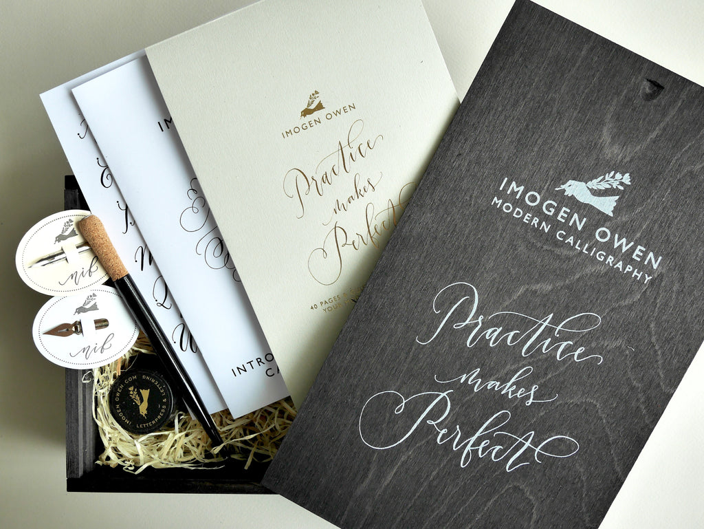 LUXURY MODERN CALLIGRAPHY KIT by IMOGEN OWEN