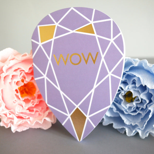 Berin Made Wow Gem Card - HUEBOW