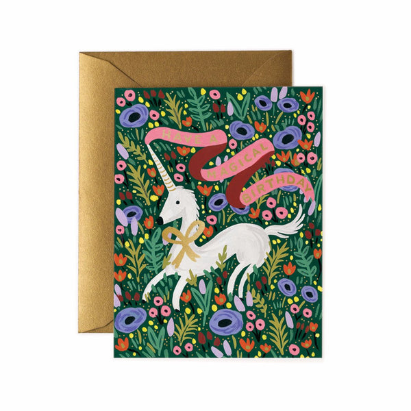 Rifle Paper Co. Have A Magical Birthday Card - HUEBOW