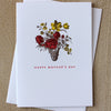 Sesame Letterpress Mother's Day Card - HUEBOW