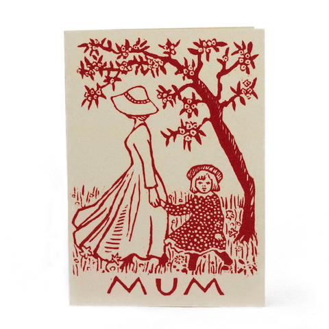 Cambridge Imprint Mother And Child Card