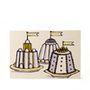 Cambridge Imprint Birthday Puddings Card - HUEBOW