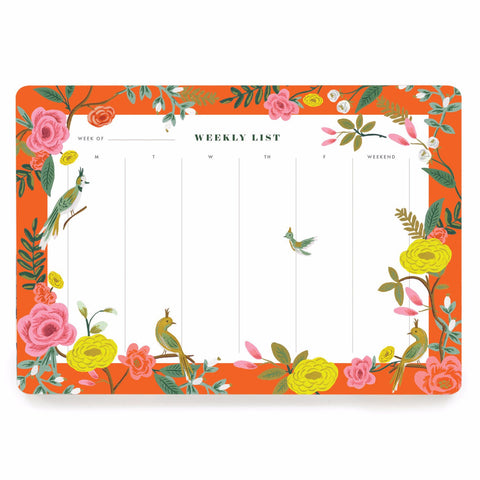 Rifle Paper Co. Shanghai Garden Weekly Planner