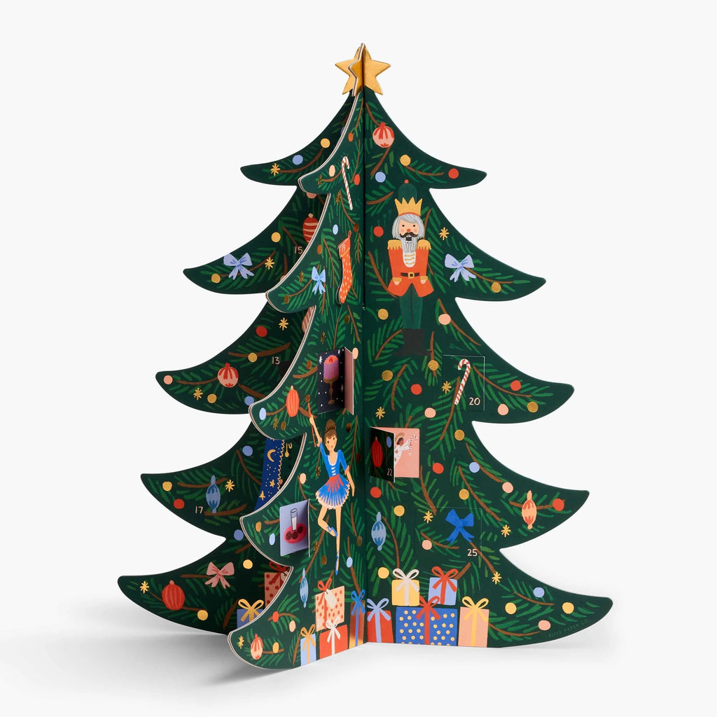 Rifle Paper Co. Christmas Tree Advent Calendar