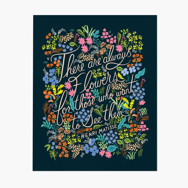 Rifle Paper Co. Matisse Quote Art Print