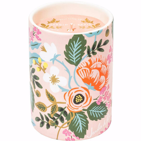 Rifle Paper Co. Jardin De Paris Candle - HUEBOW