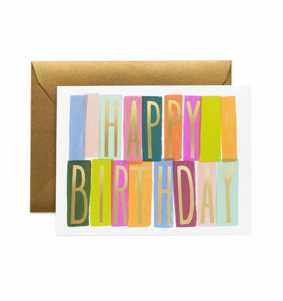 Rifle Paper Co. Mérida Birthday Card - HUEBOW
