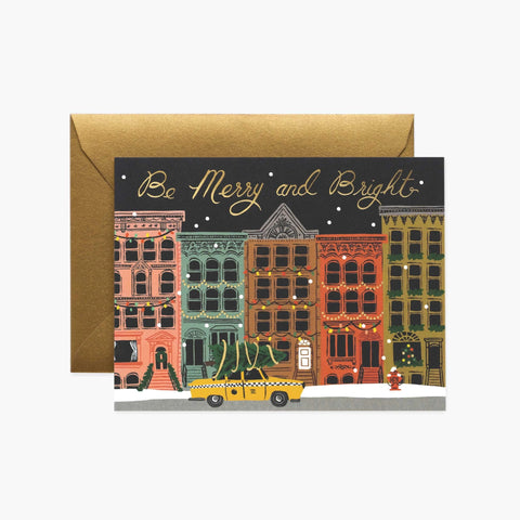 Rifle Paper Co. City Holiday Christmas Card Set