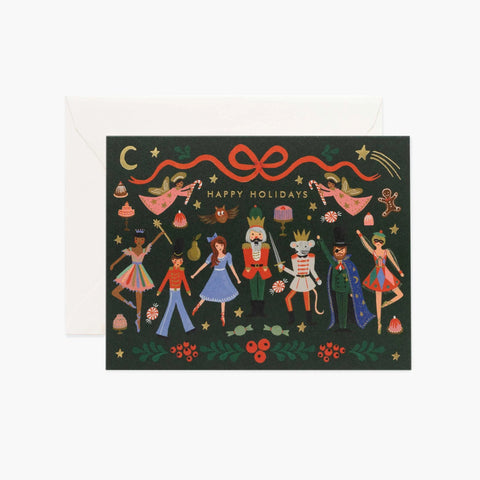 Rifle Paper Co. Nutcracker Ballet Christmas Card Set
