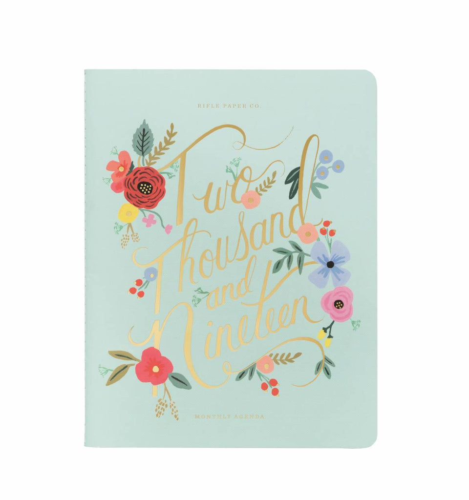 Rifle Paper Co. 2019 Bouquet Appointment Notebook Planner - HUEBOW