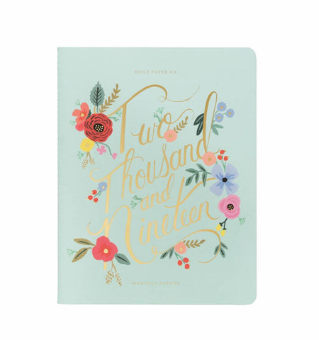 Rifle Paper Co. 2019 Bouquet Appointment Notebook Planner